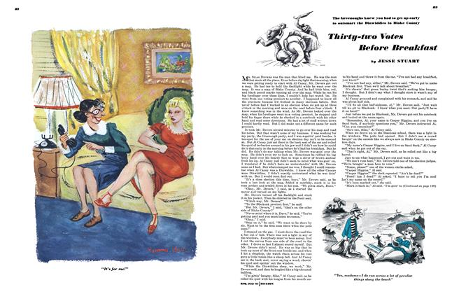 Article Preview: Thirty-two Votes Before Breakfast, July 1947 | Esquire