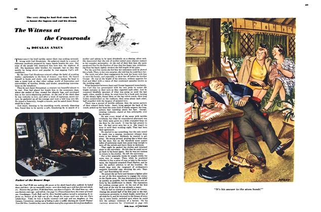 Article Preview: The Witness at the Crossroads, SEPTEMBER, 1947 1947 | Esquire