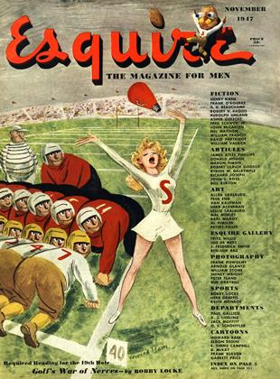 Cover for the November 1947 issue