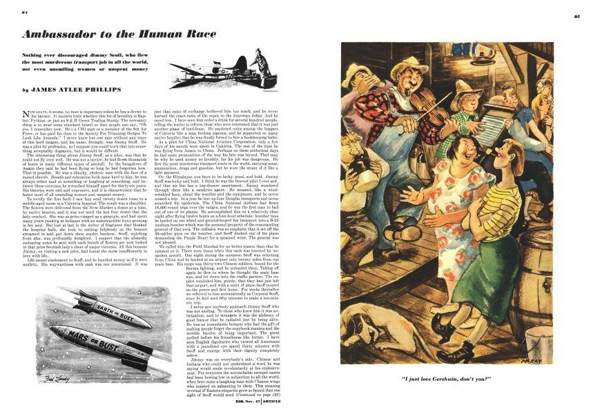 wholesale dealer 1896d 793d2 Ambassador to the Human Race | Esquire | NOVEMBER 1947