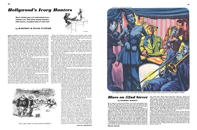 Article Preview: Hollywood's Ivory Hunters, January 1948 | Esquire