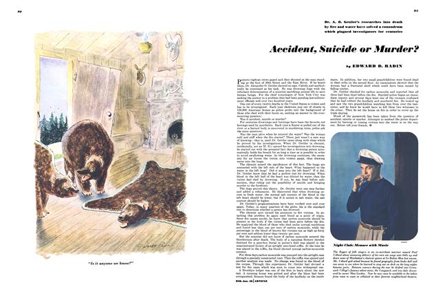 Article Preview: Accident, Suicide or Murder?, January 1948 | Esquire