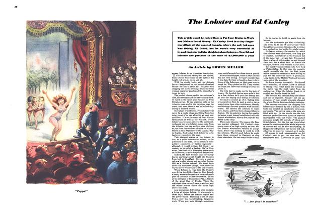 Article Preview: The Lobster and Ed Conley, MARCH, 1948 1948 | Esquire