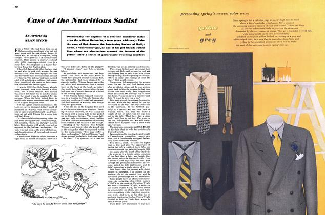 Article Preview: Case of the Nutritious Sadist, MARCH, 1948 1948 | Esquire