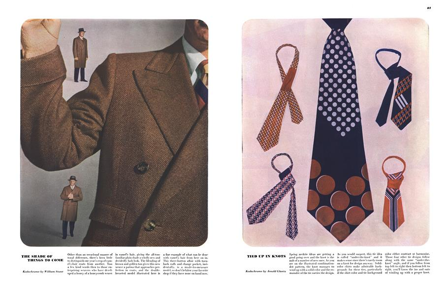 Tied Up in Knots | Esquire | MARCH, 1948