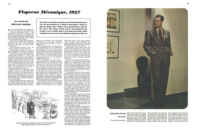 Article Preview: Floperoo Mécanique, 1927, MAY, 1948 1948 | Esquire