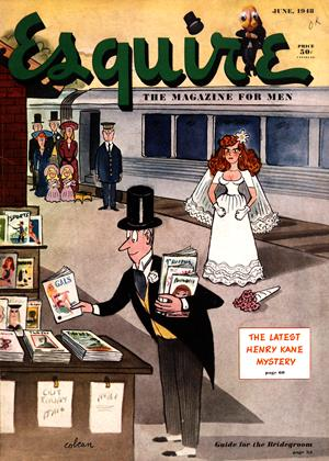 Cover for the June 1948 issue