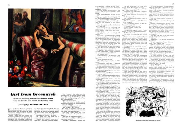 Article Preview: Girl From Greenwich, JUNE, 1948 1948 | Esquire