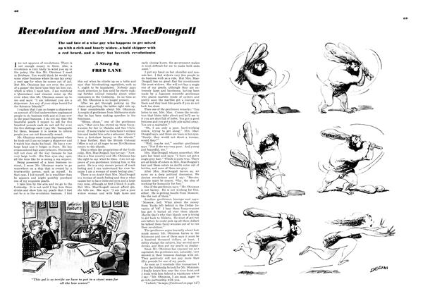 Revolution and Mrs. MacDougall