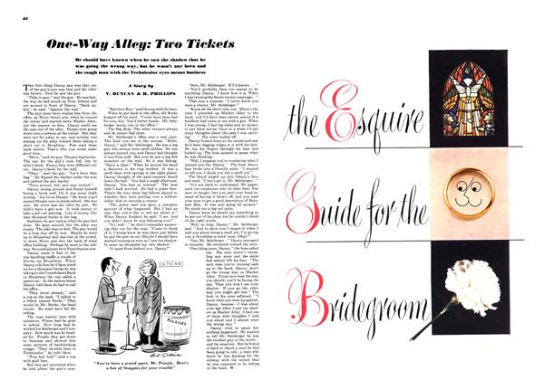 Article Preview: One-way Alley: Two Tickets, JUNE, 1948 1948 | Esquire