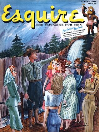 Cover for the August 1948 issue