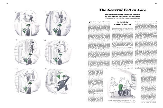 Article Preview: The General Fell in Love, SEPTEMBER, 1948 1948 | Esquire