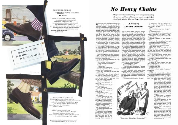 Article Preview: No Heavy Chains, October 1948 | Esquire