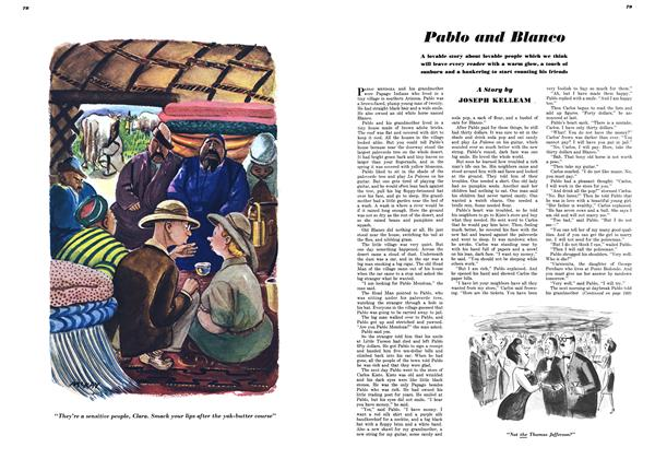 Article Preview: Pablo and Blanco, October 1948 | Esquire