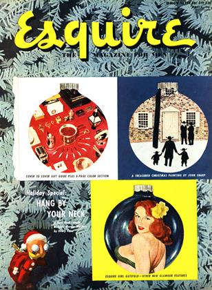 Cover for the December 1948 issue