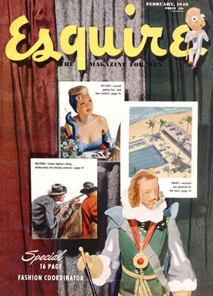 Cover for the February 1949 issue