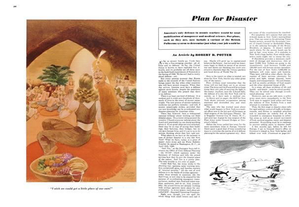 Article Preview: Plan for Disaster, FEBRUARY, 1949 1949 | Esquire
