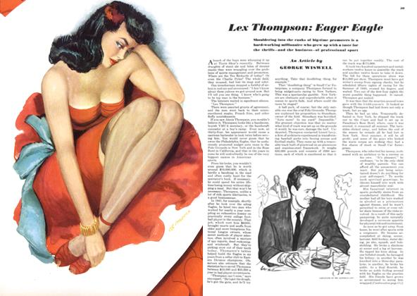 Article Preview: Lex Thompson: Eager Eagle, FEBRUARY, 1949 1949 | Esquire