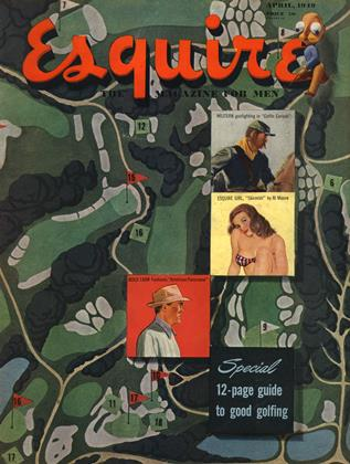 Cover for the April 1949 issue