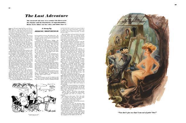 Article Preview: The Last Adventure, APRIL, 1949 1949 | Esquire