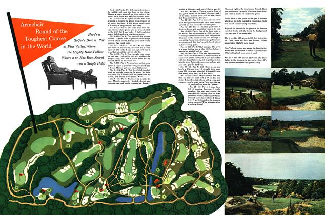 Article Preview: Armchair Round of the Toughest Course in the World, APRIL, 1949 1949 | Esquire
