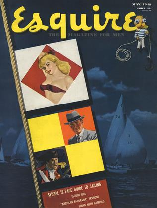 Cover for the May 1949 issue
