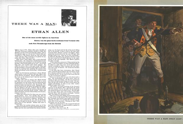 Article Preview: There Was a Man: Ethan Allen at Fort Ticonderoga, MAY, 1949 1949 | Esquire