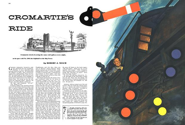 Article Preview: CROMARTIE'S RIDE, JULY, 1949 1949   Esquire