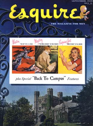 Cover for the September 1949 issue