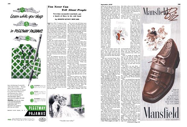 Article Preview: You Never Can Tell About People, SEPTEMBER, 1949 1949 | Esquire