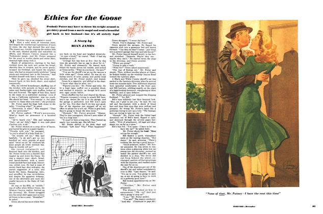 Article Preview: Ethics for the Goose, DECEMBER, 1949 1949 | Esquire