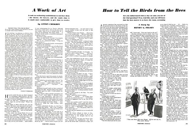 Article Preview: A Work of Art, JANUARY, 1950 1950 | Esquire