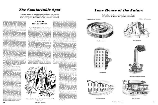 Article Preview: The Comfortable Spot, FEBRUARY, 1950 1950 | Esquire