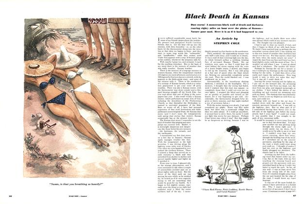 Article Preview: Black Death in Kansas, AUGUST, 1950 1950 | Esquire