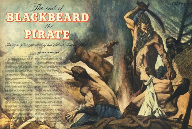 The End of Blackbeard the Pirate