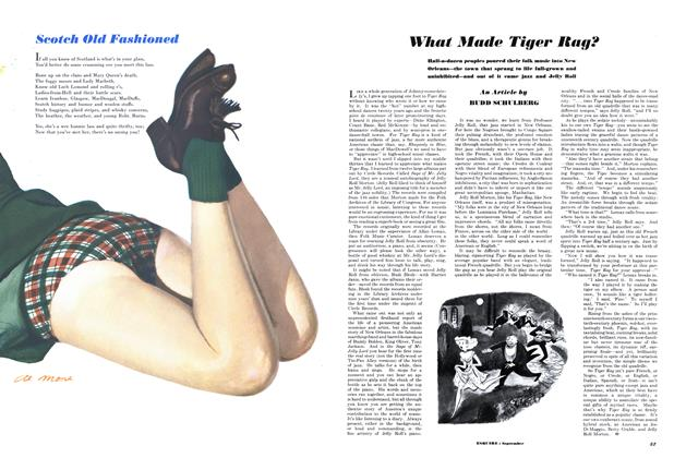 Article Preview: What Made Tiger Rag?, SEPTEMBER, 1950 1950   Esquire