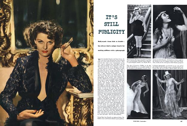 Article Preview: It's Still Publicity, SEPTEMBER, 1950 1950 | Esquire