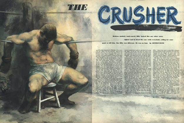 Article Preview: The Crusher, NOVEMBER, 1950 1950 | Esquire