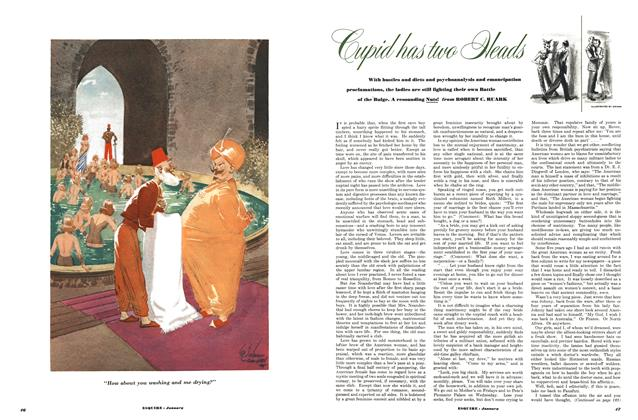 Article Preview: Cupid Has Two Heads, JANUARY, 1951 1951   Esquire