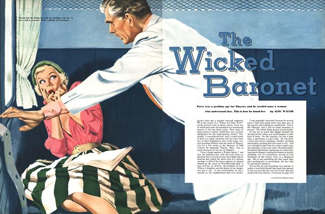Article Preview: The Wicked Baronet, MARCH, 1951 1951 | Esquire