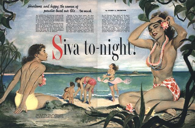 Article Preview: Sive to Night!, MARCH, 1951 1951 | Esquire