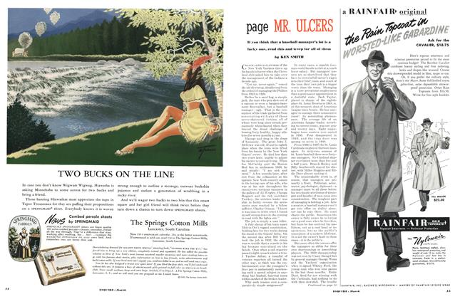 Article Preview: Page Mr. Ulcers, MARCH, 1951 1951 | Esquire