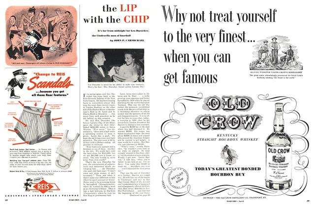 Article Preview: The Lip with the Chip, April 1951 | Esquire