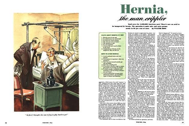 Article Preview: Hernia, the Man Crippler, MAY, 1951 1951 | Esquire