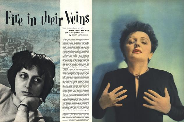 Article Preview: Fire in Their Veins, JUNE, 1951 1951 | Esquire