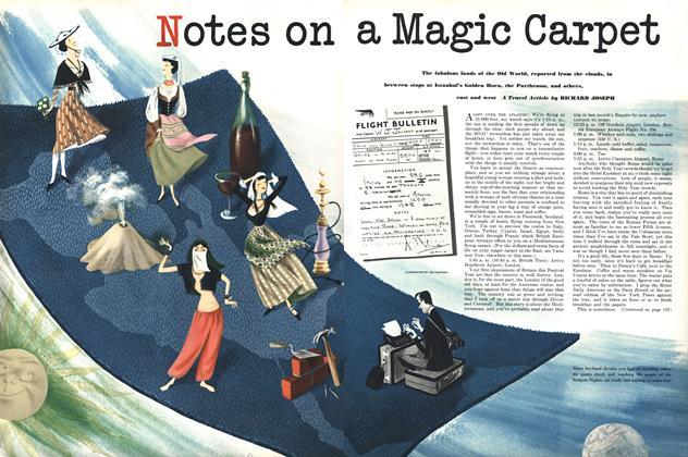 Notes on a Magic Carpet