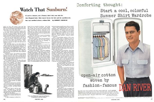 Watch That Sunburn!