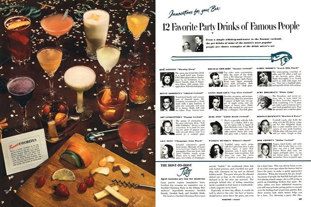 12 Favorite Party Drinks of Famous People