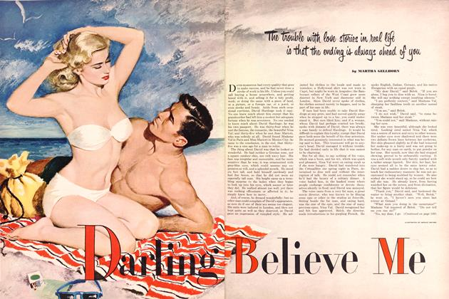 Article Preview: Darling, Believe Me, SEPTEMBER, 1951 1951   Esquire