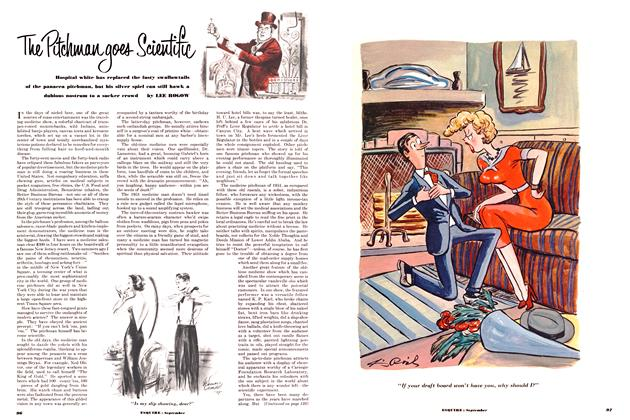 Article Preview: The Pitchman Goes Scientific, SEPTEMBER, 1951 1951 | Esquire